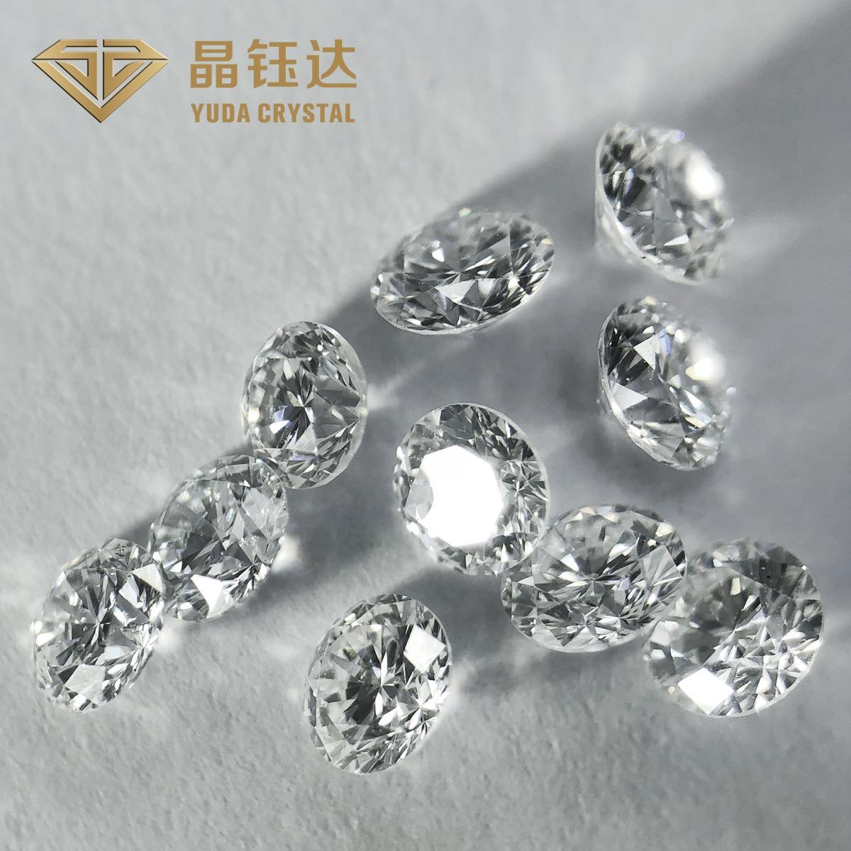 培育钻石 裸钻 白色圆钻